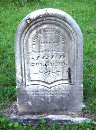 MCKNIGHT, THOMAS S. - Meigs County, Ohio | THOMAS S. MCKNIGHT - Ohio Gravestone Photos