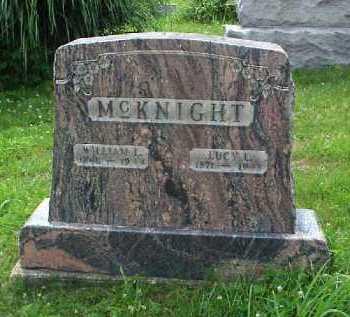 MCKNIGHT, LUCY L. - Meigs County, Ohio   LUCY L. MCKNIGHT - Ohio Gravestone Photos