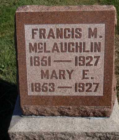 MCLAUGHLIN, MARY E. - Meigs County, Ohio | MARY E. MCLAUGHLIN - Ohio Gravestone Photos