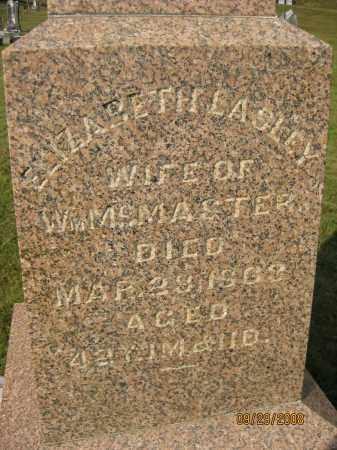 LASLEY MCMASTER, ELIZABETH - Meigs County, Ohio   ELIZABETH LASLEY MCMASTER - Ohio Gravestone Photos