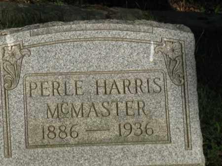 HARRIS MCMASTER, PERLE - Meigs County, Ohio   PERLE HARRIS MCMASTER - Ohio Gravestone Photos