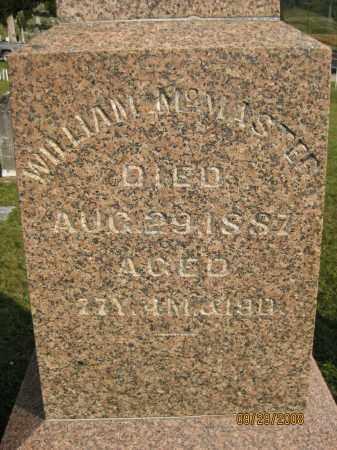 MCMASTER, WILLIAM - Meigs County, Ohio   WILLIAM MCMASTER - Ohio Gravestone Photos