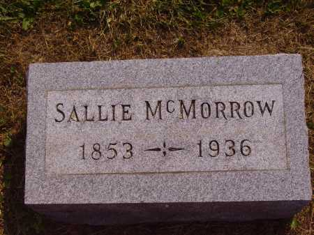MCMORROW, SALLIE - Meigs County, Ohio | SALLIE MCMORROW - Ohio Gravestone Photos