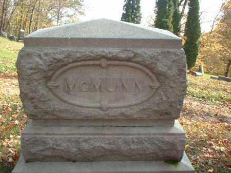 MCMUNN, MONUMENT - Meigs County, Ohio | MONUMENT MCMUNN - Ohio Gravestone Photos
