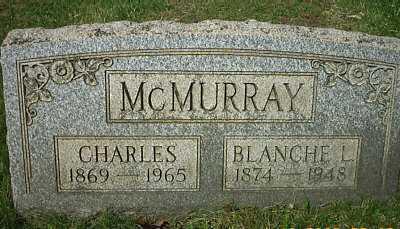 MCMURRAY, CHARLES - Meigs County, Ohio | CHARLES MCMURRAY - Ohio Gravestone Photos