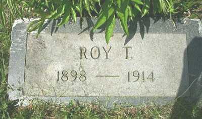 MCMURRAY, ROY T. - Meigs County, Ohio   ROY T. MCMURRAY - Ohio Gravestone Photos