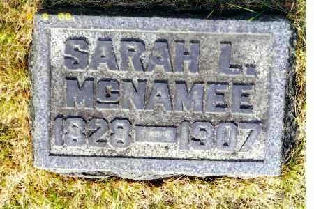 BATTERSON MCNAMEE, SARAH LUCINDA - Meigs County, Ohio   SARAH LUCINDA BATTERSON MCNAMEE - Ohio Gravestone Photos