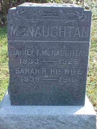 MCNAUGHTAN, SARAH R. - Meigs County, Ohio | SARAH R. MCNAUGHTAN - Ohio Gravestone Photos