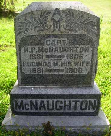 MCNAUGHTON, HARLOW P. - Meigs County, Ohio | HARLOW P. MCNAUGHTON - Ohio Gravestone Photos
