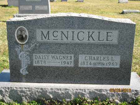 WAGNER MCNICKLE, DAISY - Meigs County, Ohio | DAISY WAGNER MCNICKLE - Ohio Gravestone Photos