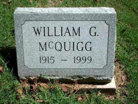 MCQUIGG, WILLIAM G. - Meigs County, Ohio   WILLIAM G. MCQUIGG - Ohio Gravestone Photos