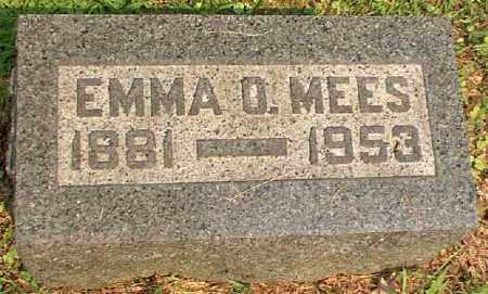 MEES, EMMA O. - Meigs County, Ohio | EMMA O. MEES - Ohio Gravestone Photos