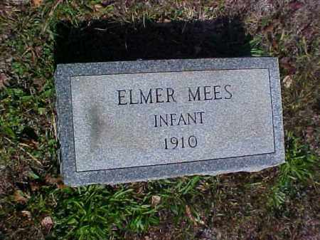 MEES, ELMER - Meigs County, Ohio | ELMER MEES - Ohio Gravestone Photos