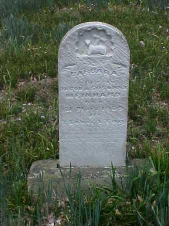 MEINHARD, BARBARA - Meigs County, Ohio | BARBARA MEINHARD - Ohio Gravestone Photos