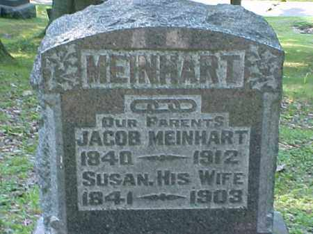 MEINHART, JACOB - Meigs County, Ohio   JACOB MEINHART - Ohio Gravestone Photos