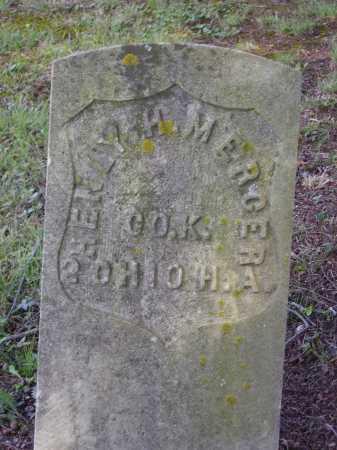 MERCER, HENLY H. - Meigs County, Ohio | HENLY H. MERCER - Ohio Gravestone Photos