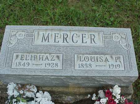 MERCER, ELIPHAZ - Meigs County, Ohio | ELIPHAZ MERCER - Ohio Gravestone Photos