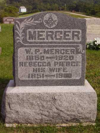 PIERCE MERCER, REBECCA LUCINDA - Meigs County, Ohio | REBECCA LUCINDA PIERCE MERCER - Ohio Gravestone Photos