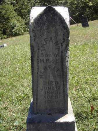 MERRITT, INFANT SON - Meigs County, Ohio   INFANT SON MERRITT - Ohio Gravestone Photos
