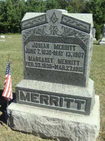 MERRITT, JOSIAH - Meigs County, Ohio | JOSIAH MERRITT - Ohio Gravestone Photos