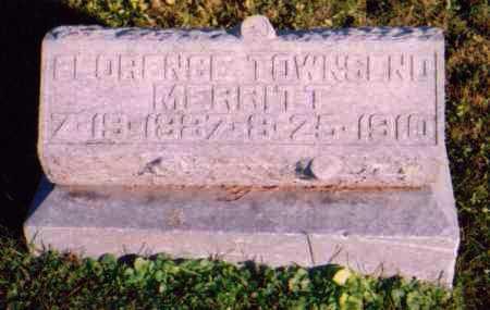 TOWNSEND MERRITT, FLORENCE - Meigs County, Ohio | FLORENCE TOWNSEND MERRITT - Ohio Gravestone Photos