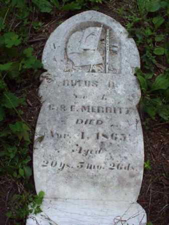 MERRITT, RUFUS B. - Meigs County, Ohio | RUFUS B. MERRITT - Ohio Gravestone Photos