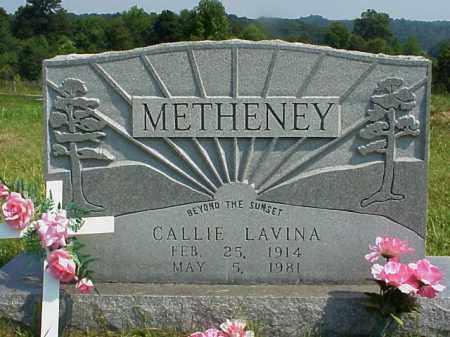 METHENEY, CALLIE LAVINA - Meigs County, Ohio | CALLIE LAVINA METHENEY - Ohio Gravestone Photos