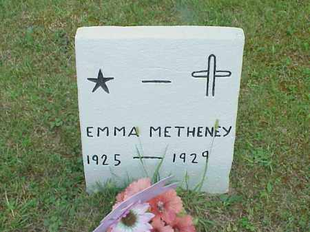 METHENEY, EMMA - Meigs County, Ohio   EMMA METHENEY - Ohio Gravestone Photos
