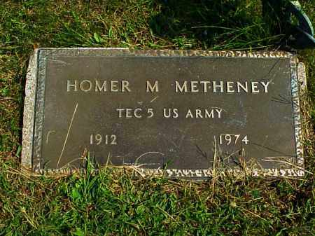 METHENEY, HOMER M. - Meigs County, Ohio | HOMER M. METHENEY - Ohio Gravestone Photos