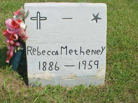 METHENEY, REBECCA - Meigs County, Ohio | REBECCA METHENEY - Ohio Gravestone Photos