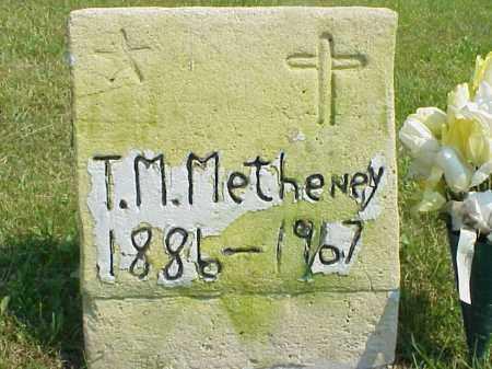 METHENEY, THOMAS M. - Meigs County, Ohio | THOMAS M. METHENEY - Ohio Gravestone Photos