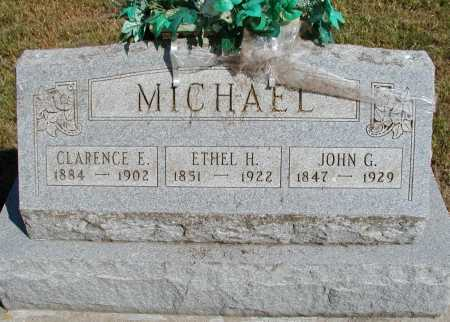 MICHAEL, JOHN G. - Meigs County, Ohio | JOHN G. MICHAEL - Ohio Gravestone Photos