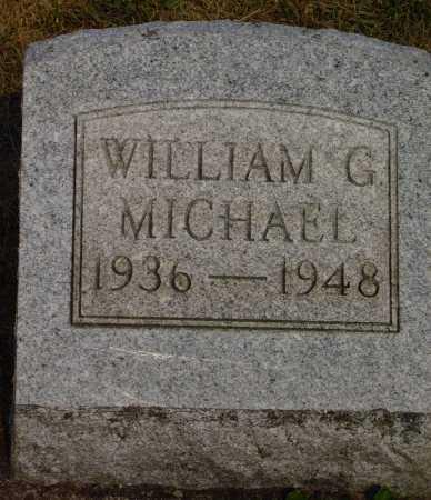 MICHAEL, WILLIAM G. - Meigs County, Ohio | WILLIAM G. MICHAEL - Ohio Gravestone Photos