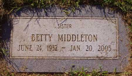 MIDDLETON, BETTY - Meigs County, Ohio | BETTY MIDDLETON - Ohio Gravestone Photos