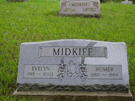 MIDKIFF, EVELYN - Meigs County, Ohio | EVELYN MIDKIFF - Ohio Gravestone Photos