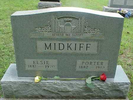 SMITH MIDKIFF, ELSIE - Meigs County, Ohio | ELSIE SMITH MIDKIFF - Ohio Gravestone Photos