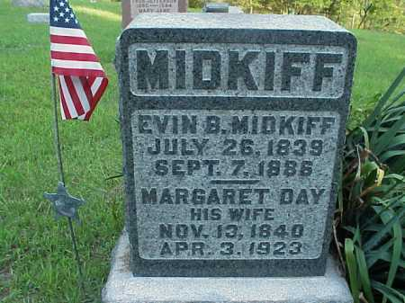 MIDKIFF, EVIN B. - Meigs County, Ohio | EVIN B. MIDKIFF - Ohio Gravestone Photos