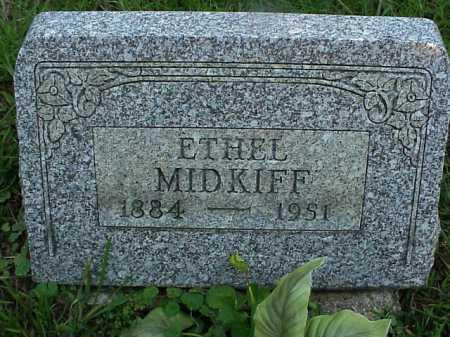 MIDKIFF, ETHEL - Meigs County, Ohio   ETHEL MIDKIFF - Ohio Gravestone Photos