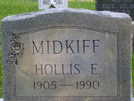MIDKIFF, HOLLIS E. - Meigs County, Ohio | HOLLIS E. MIDKIFF - Ohio Gravestone Photos