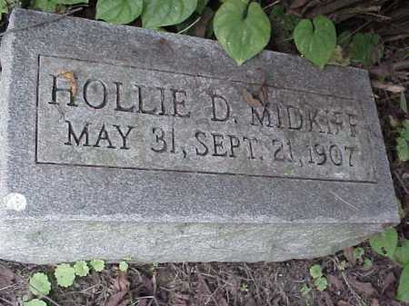 MIDKIFF, HOLLIE D. - Meigs County, Ohio   HOLLIE D. MIDKIFF - Ohio Gravestone Photos