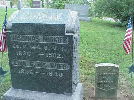 MIDKIFF, JOSEPHAS - Meigs County, Ohio   JOSEPHAS MIDKIFF - Ohio Gravestone Photos