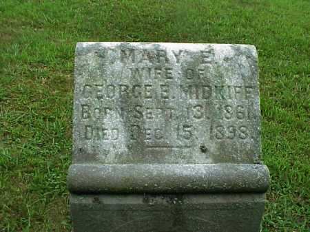 BRYSON MIDKIFF, MARY E. - Meigs County, Ohio | MARY E. BRYSON MIDKIFF - Ohio Gravestone Photos