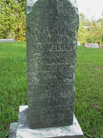 WELKER MIDKIFF, MARY JANE - Meigs County, Ohio   MARY JANE WELKER MIDKIFF - Ohio Gravestone Photos