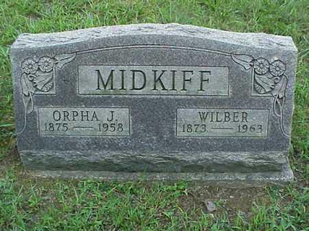 MIDKIFF, ORPHA J. - Meigs County, Ohio | ORPHA J. MIDKIFF - Ohio Gravestone Photos