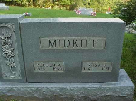 MIDKIFF, REUBEN W. - Meigs County, Ohio | REUBEN W. MIDKIFF - Ohio Gravestone Photos