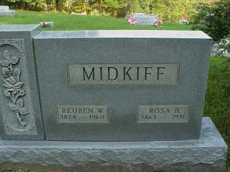 BING MIDKIFF, ROSA B. - Meigs County, Ohio | ROSA B. BING MIDKIFF - Ohio Gravestone Photos