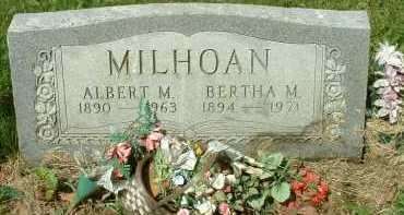 MILHOAN, ALBERT M. - Meigs County, Ohio | ALBERT M. MILHOAN - Ohio Gravestone Photos