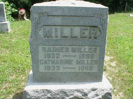 MILLER, CATHARINE - Meigs County, Ohio | CATHARINE MILLER - Ohio Gravestone Photos