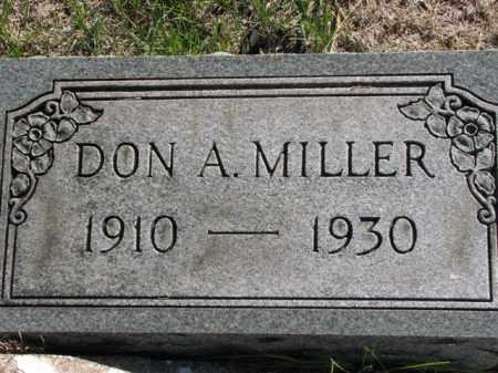MILLER, DON A. - Meigs County, Ohio | DON A. MILLER - Ohio Gravestone Photos