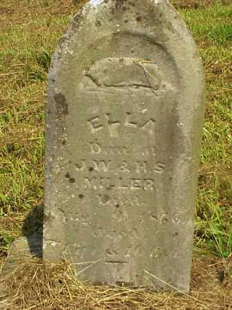 MILLER, ELLA - Meigs County, Ohio | ELLA MILLER - Ohio Gravestone Photos